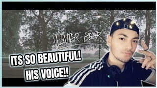 FIRST TIME EVER REACTING TO 'WINTER BEAR' BY V (FROM BTS)