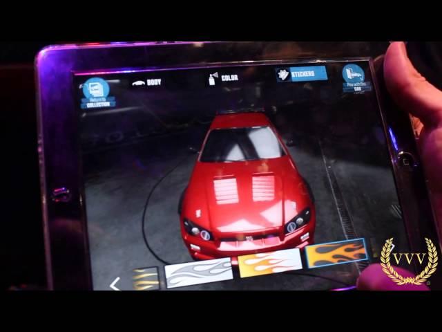 The Crew - Car Customisation on iPad