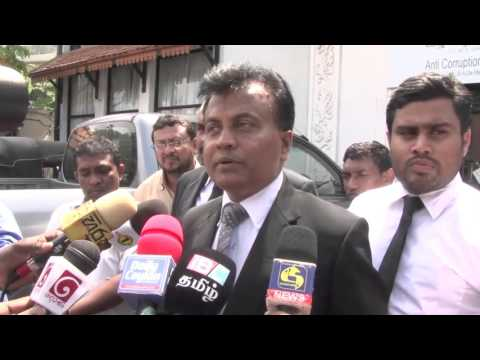 Sunil Watagala complains to Anti corruption committee secretariat on 02.12.2015