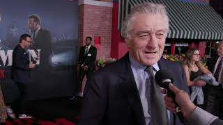The Irishman: Robert De Niro Los Angeles Movie Premiere Interview