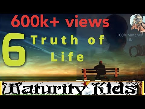 6.Truth of LIFE / WhatsApp status video / facts of life