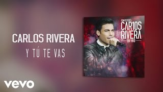 Carlos Rivera - Y Tú Te Vas (Audio)