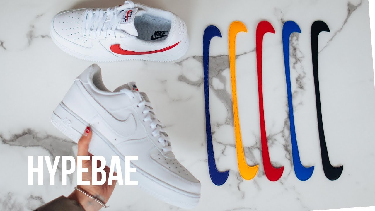 nike air force 1 baffo strappi