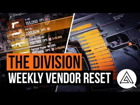The Division | Weekly Vendor Reset - LVOA-C & PP-19 (April 22nd)