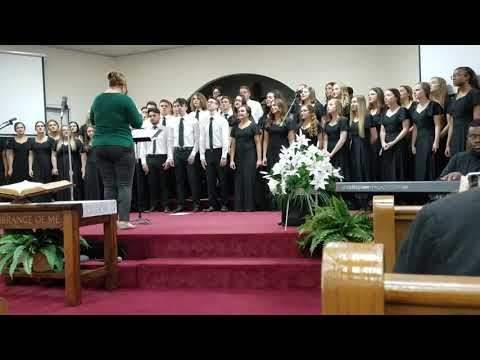 Pearl River Central High School Gospel Tour March 17, 2019 Pt 3