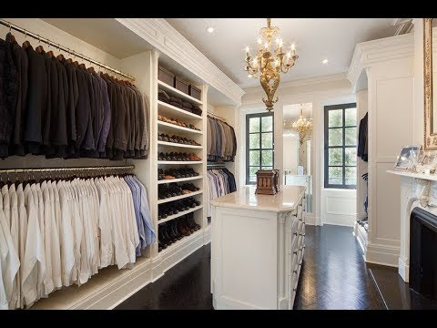Small Walk in Closet Shelving Organizer Systems Design Ideas