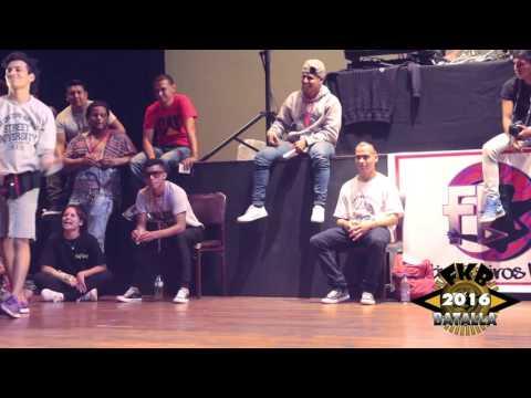 FKB INTERNACIONAL - CNK LOCOS (GUAYAQUIL) vs HUASCAR TRIBE (QUITO) Batalla 6