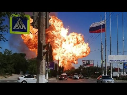 Взрыв заправки в Волгограде 10 августа 2020