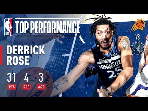 Derrick Rose Goes For 29 In The 2nd Half And The Game-Winner! | January 20, 2019