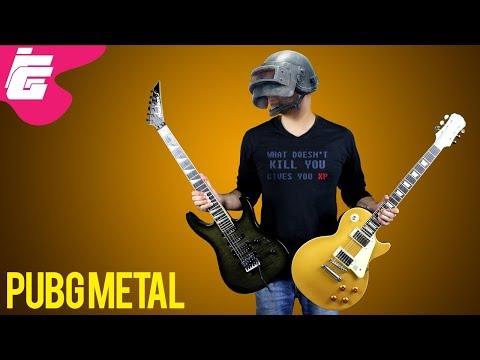 PUBG NEW Main Theme - Metal/Rock Cover (REMIX) | iEddy Gaming