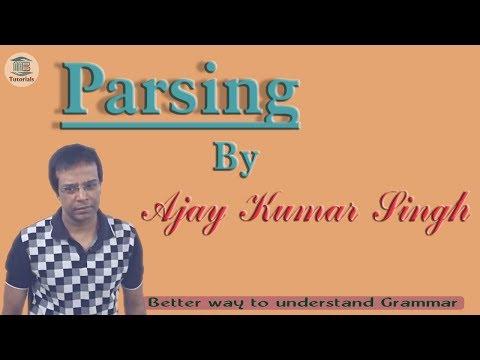 PARSING Part-1 II Ajay Kumar Singh II MB Books