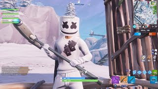 The New Marshmello Skin on Fortnite| Special guest Shionixa Fal|