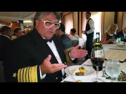 Royal Caribbean President and CEO sends bottle of wine to Mr Sunshine Table Eddy Shipek