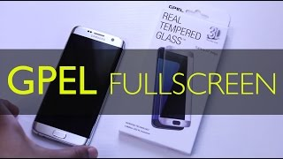 Samsung Galaxy S7 Edge - GPEL Fullscreen Curved Glass Protector REVIEW