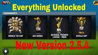 Wcc2 New Version 2.5.4 Apk. Wcc2 Cricket Game Everything Unlock All Feature Latest Version ! 2017