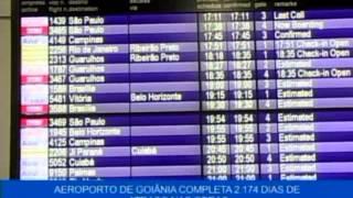 Aeroporto de Goiânia completa 2174 dias de atraso nas obras - Alessandra