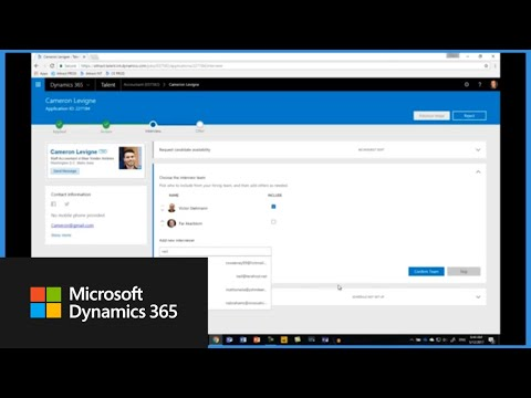 How to manage open jobs in Dynamics 365 for Talent: Attract