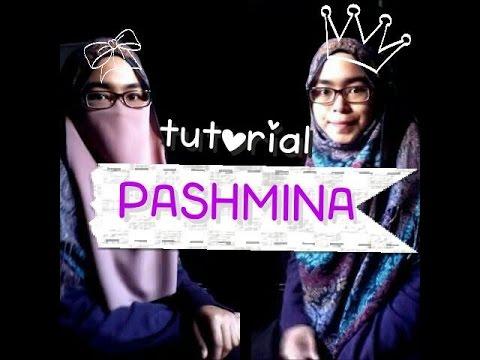 Pashmina tutorial w&wout purdah