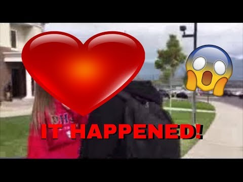 Thumbnail: FIRST KISS! *caught on camera*