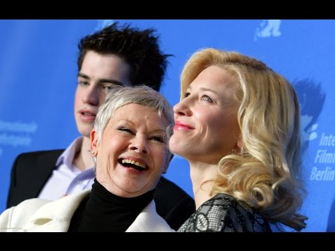 Berlinale 2007 丨Notes On A Scandal press conference with Cate Blanchett and Judi Dench (Full)