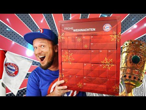 ADVENTSKALENDER 2019 Fan Shop FC BAYERN MÜNCHEN Unboxing Deutsch