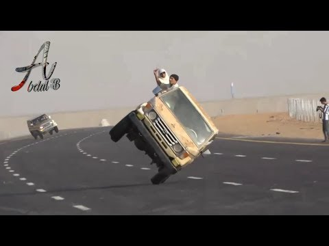 New Amazing Crazy Car Stunt | Only In Saudi Arabia – Crazy A