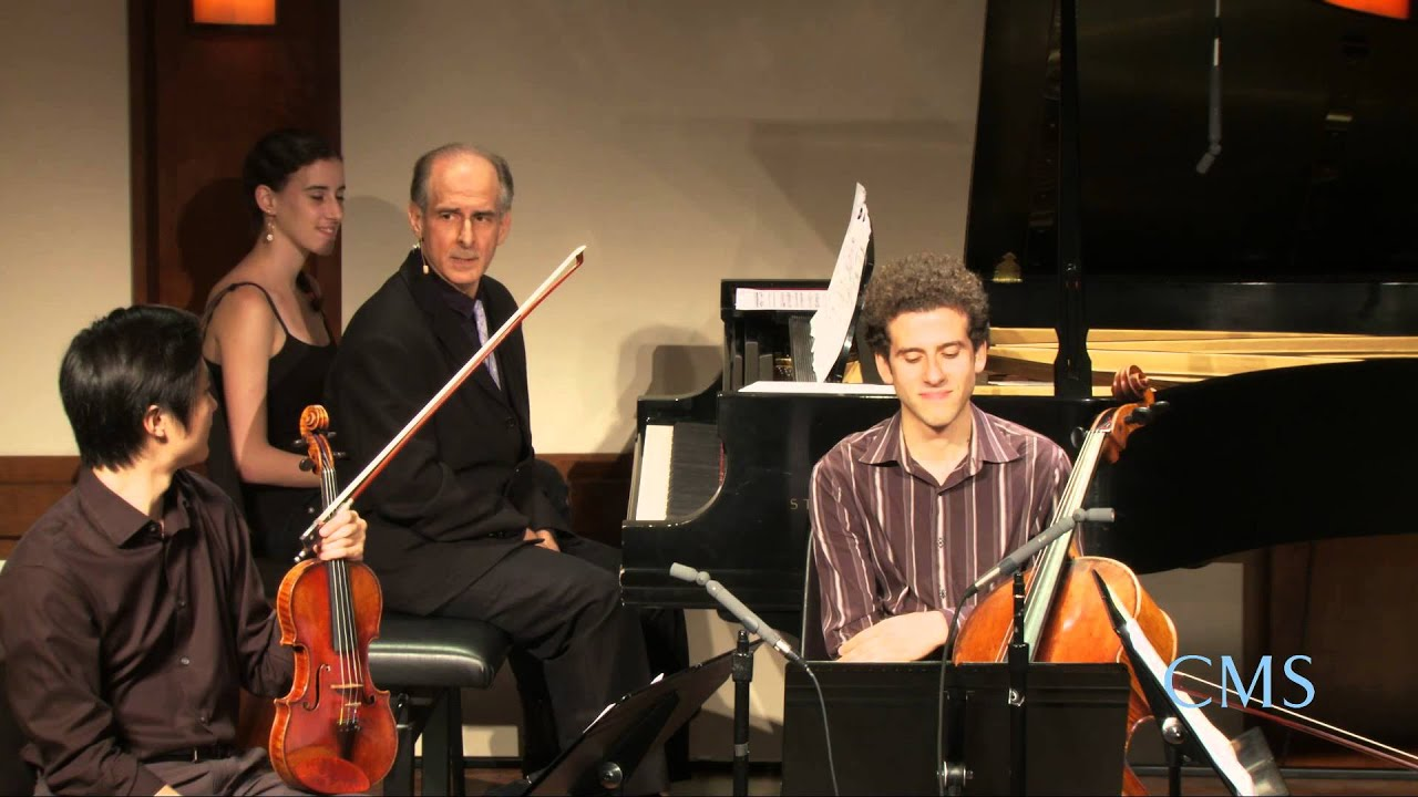 Inside Chamber Music with Bruce Adolphe - Mozart Piano Quartet in E-flat major, K. 493