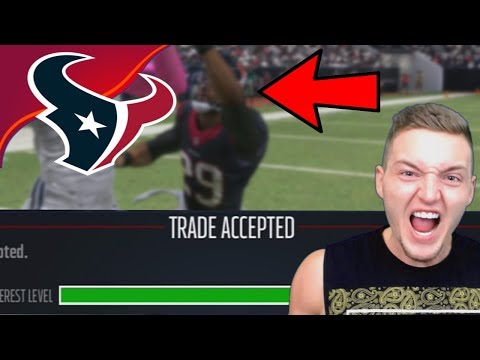 THE BIGGEST PLAYER TRADED IN NFL HISTORY! - Madden 17 Houston Texans Connected Franchise #9