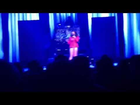 "Marsha Ambrosius sings ""Soul Glo"" at Club Nokia 10.17.11"