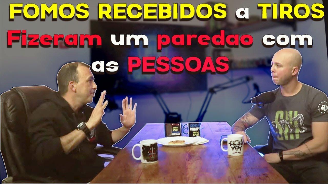 TINHA 10 REFÉNS e TRÊS CRIMINOSOS - Cortes do QAPCast - GCM Cristiano - parte 05