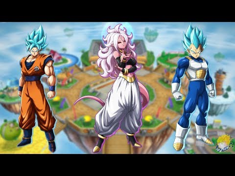 Dragon Ball FighterZ - How to Unlock SSGSS Goku, SSGSS Vegeta & Android 21 【60FPS 1080P】