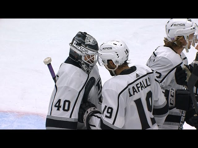 Cal Peterson earns his first NHL shutout