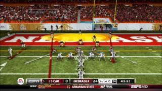 NCAA 13: South Carolina vs. Nebraska: 2013 BCS National Championship