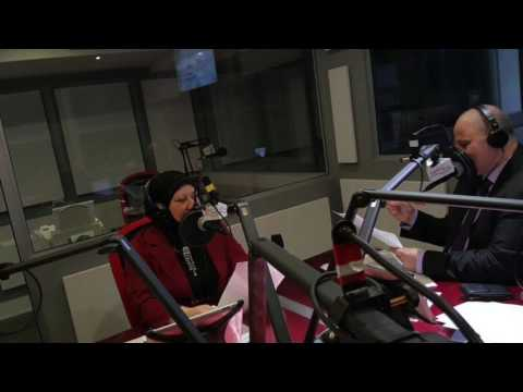Interview #2 of Sawsan Jamil Khamis at the 1450 AM Middle East radio station of Montreal.