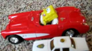 SpongeBob Car Chase Part 1