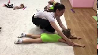 "Детская гимнастика дома . Урок №9 ""Коробочка"""
