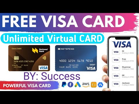 How To Get Free Virtual Visa Card In 2021 | Get Free VVC | Get Free VCC | Get Free Master Card 2021