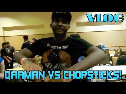 Qaaman vs. Chopsticks, Blackenfist gets lost, Yacko's World, Steakhouse,  Comic Con VLOG  Pt 4