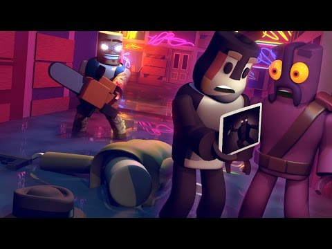 Roblox Animation | Murder Mystery: The Secret City Killer Animated!