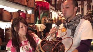 古都の町並にバリの香りが。アジアン雑貨「MUTASAN」
