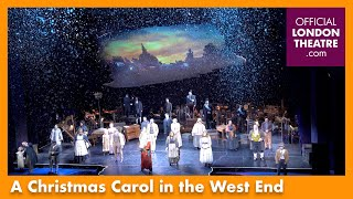 Full Opening Night Curtain Call speech | A Christmas Carol in the West End ahead of closing