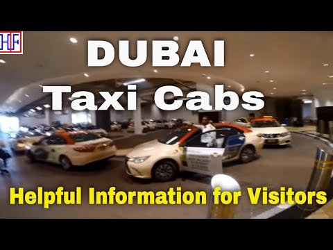 Dubai | Taxi Cabs Guide - Getting Around | Travel Guide | Episode# 3
