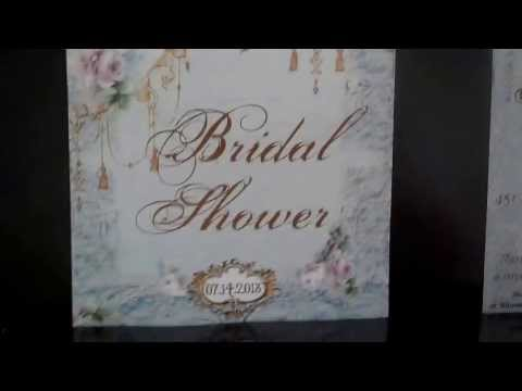 Bridal shower invitations review for Zazzle com