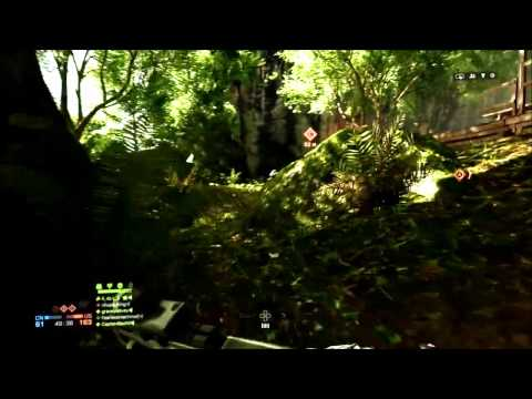 BF4 PS4 Guilin Peaks PDW-R/MBT-LAW [DOM Gameplay]
