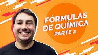 | Live | Fórmulas de Química para o Enem (parte 2) | Prof. Luiz Cláudio