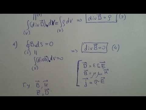 3 Уравнения Максвелла в дифференциальной форме