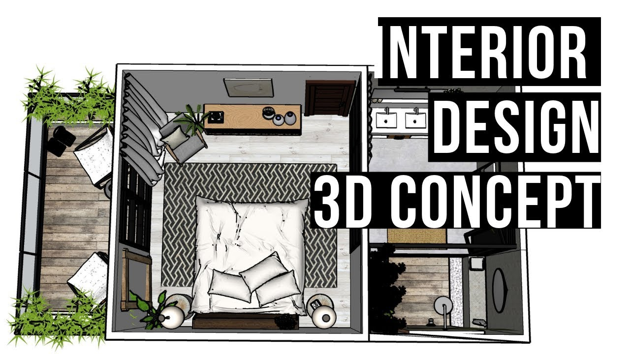 Interior Design 3D Visual Villa Concept