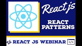 React JS Weekend Webinars | Webcasts