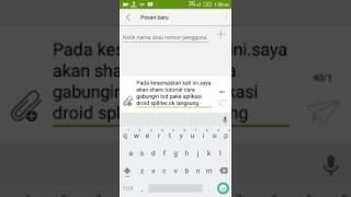 Cara Gabungin File Txd Gta sa android menggunakan aplikasi droid spliter