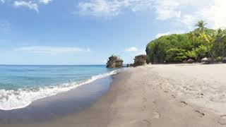 Soak in the Beauty and White Sand of Mamin Beach   Saint Lucia Tourism Authority